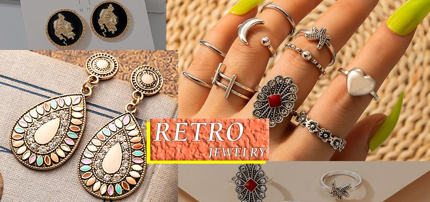 wholesale retro jewelry