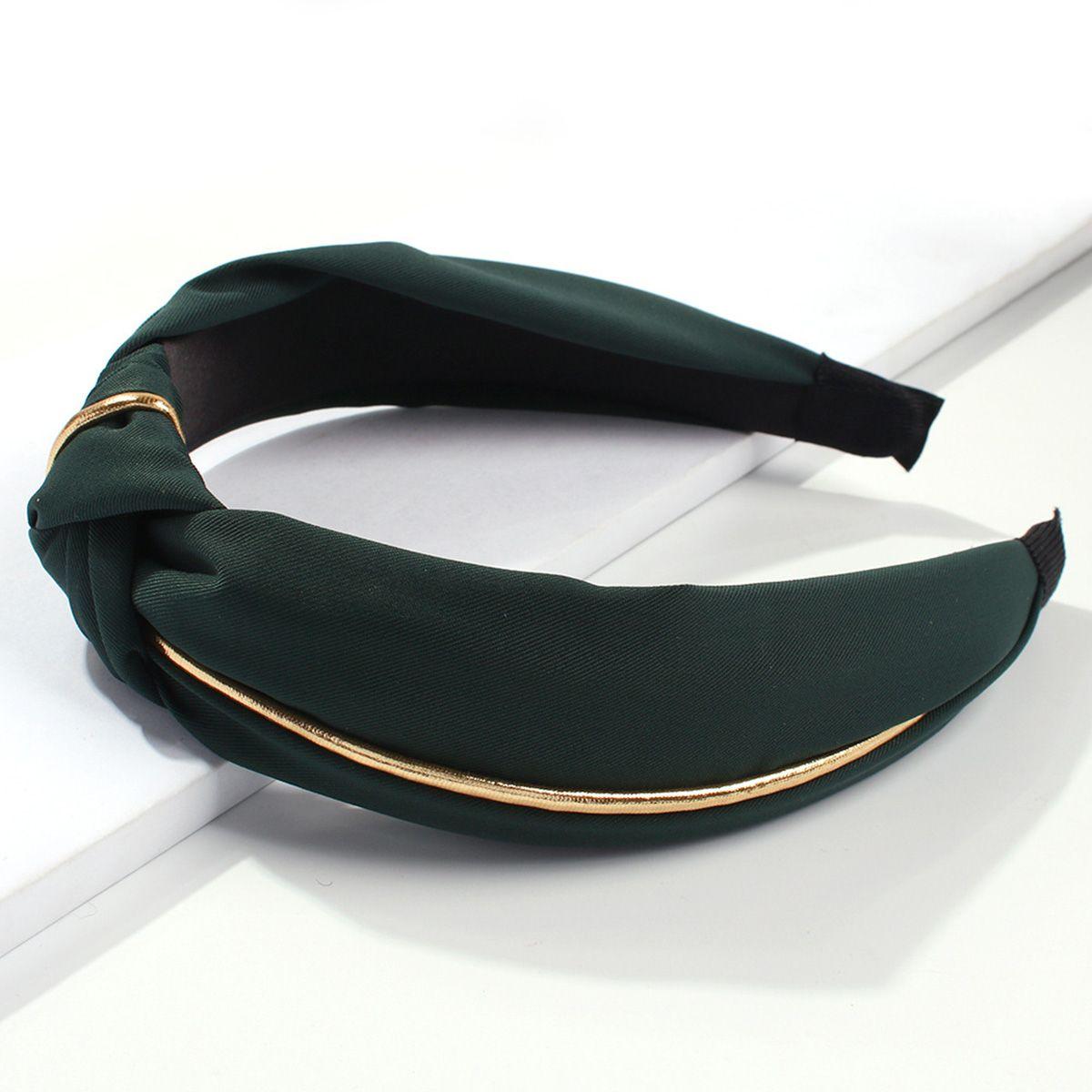 ookjewelry wholesale Broad Brim Bow Gilt Headbands